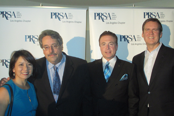 mottek honored the public relations society of america s prsa los